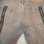 как отремонтировать порванные брюки