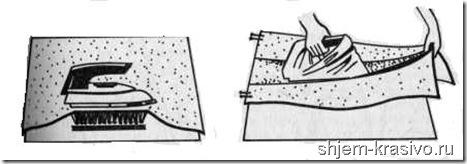 При шитье важно утюжить правильно!