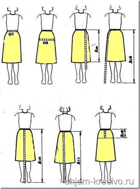 Измерим фигуру. Сошьем юбку!