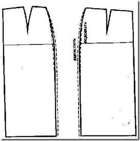 Устранение дефектов во время примерки при пошиве юбки.