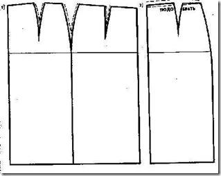 Поперечные заломы.Устранение дефектов во время примерки при пошиве юбки.