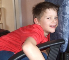 Мой сынок Ванюшка.