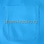 накладной карман с широкой обтачкой из основной ткани