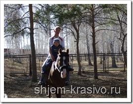 Экопарк -  катание на лошадях