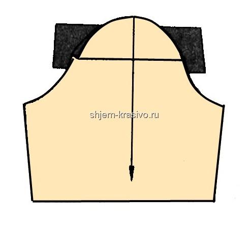 Выкройка китайского прямого платья