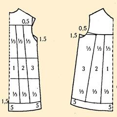 Моделирование сарафана