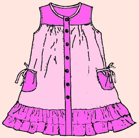 Платья, сарафаны детские спицами и крючком,вязание онлайн. схемы