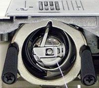 Как выбрать швейную машину? Вертикальный качающийся челнок