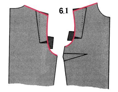 новая линия плеча