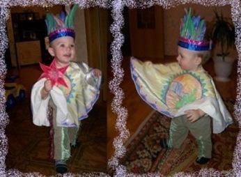 Выкройка пончо для костюма индейца