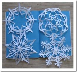 Снежинки для Ирины и Анечки