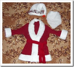 Костюм Деда Мороза от Ангелины