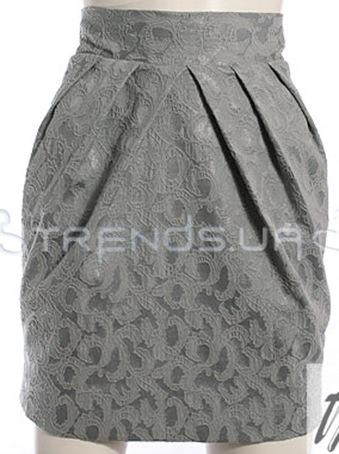Юбка тюльпан выбор ткани