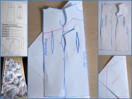 1a145ca31c2 Летний сарафан с одним швом и открытой спиной