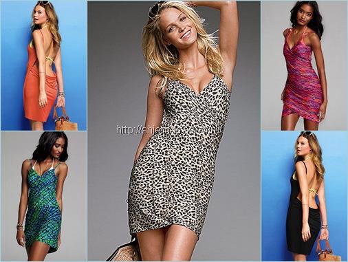 пляжное0 платье