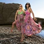 Летнее платье для пляжа