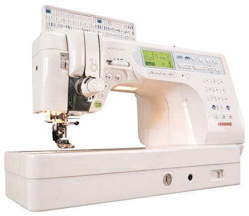 швейная машина Janome Memory Craft 6600P (MC 6600 P)