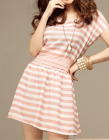 Платье в полоску шить