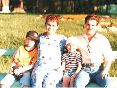 3. наша семья, когда детки были еще маленькими