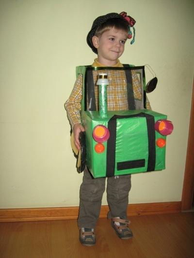 Костюм Тракторёнок