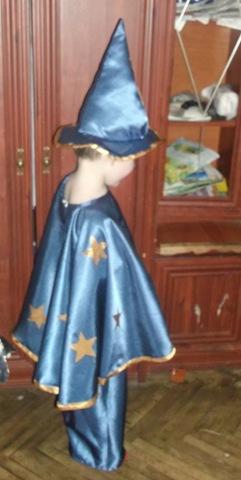 Как сделать костюм волшебника своими руками