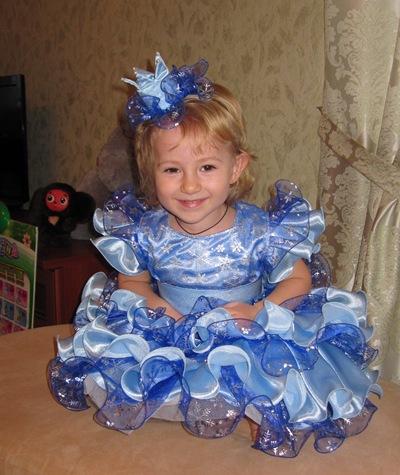 Костюм Принцесса- Снежинка