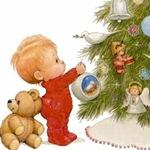 Дед Мороз, Ангел с Чертиком и Конфетка
