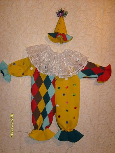 Новогодний костюм «Клоун»