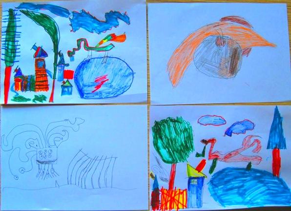 Рисунки сына