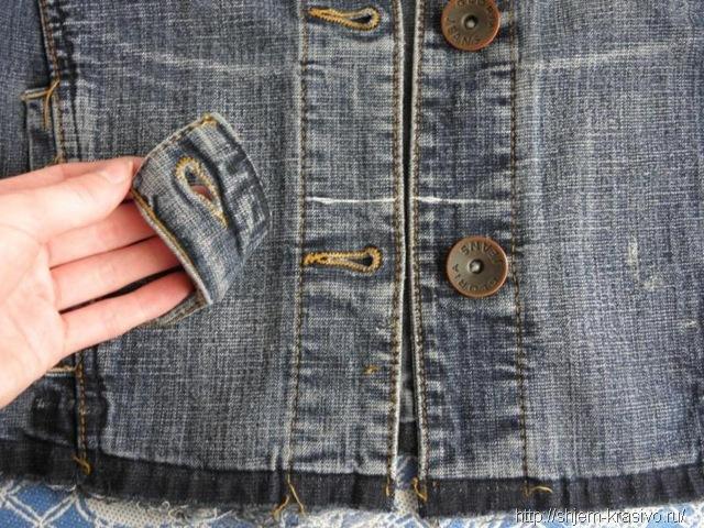 Вторая жизнь джинсовой куртки 364
