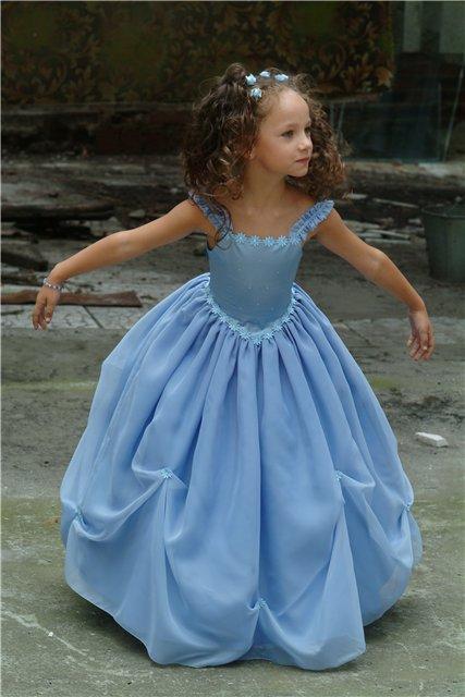 Как сшить бальные платья для девочек