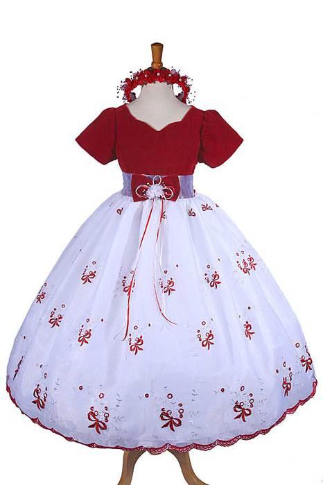 Как сшить детское бальное платье