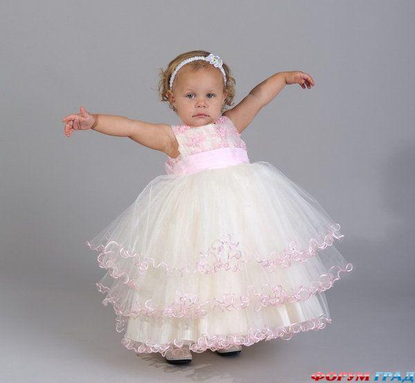 Белое платье для девочки своими руками фото 504