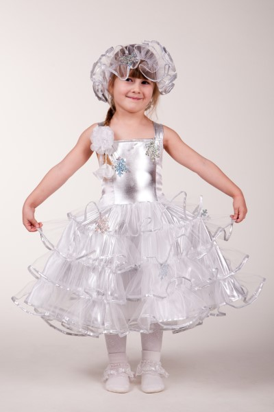 Шить детское бальное платье в