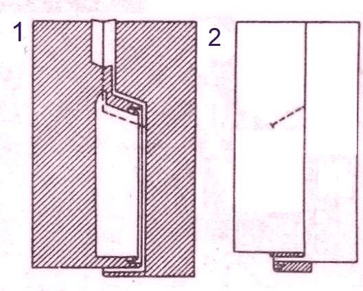 Как пошить шлицу на юбке