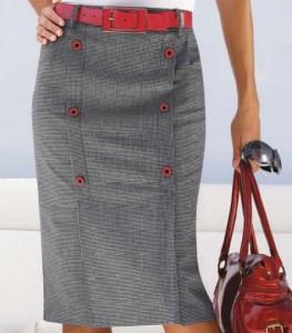 Моделирование юбки с рельефами. Технология пошива юбки.