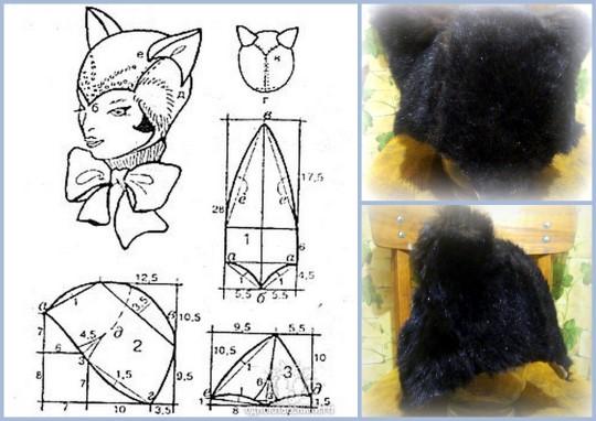 Головной убор для костюма Кошечка