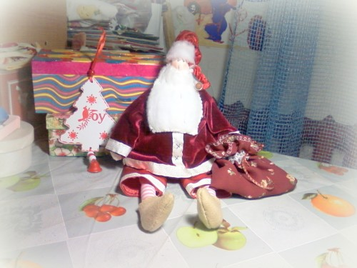 Кукла Тильда Санта Клаус