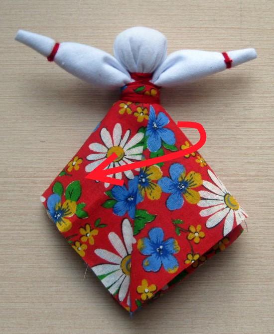 """Кукла - оберег """"Масленица"""" своими руками. Очень просто."""