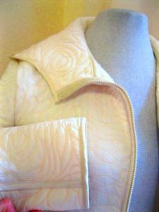 Как сшить куртку из курточного материала с мехом