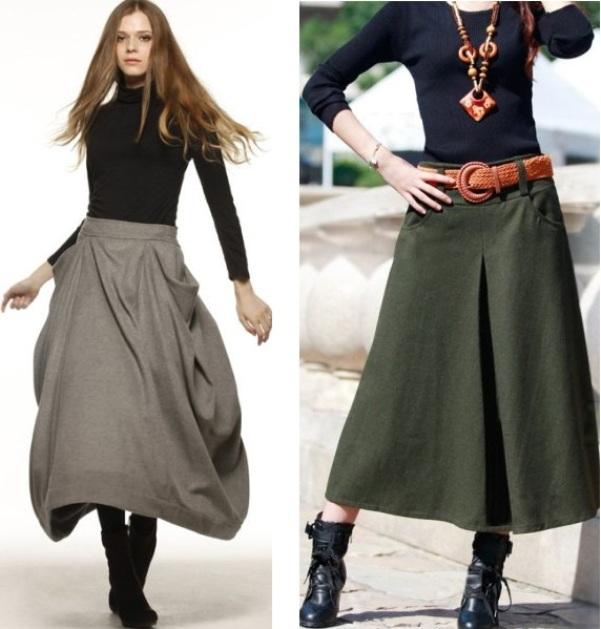 Как носить юбки миди невысоким