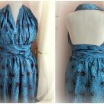 Как сшить платье с открытой спиной без выкройки