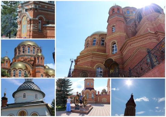 Свято-Троицкая Симеонова Обитель Милосердия в поселке Саракташ.