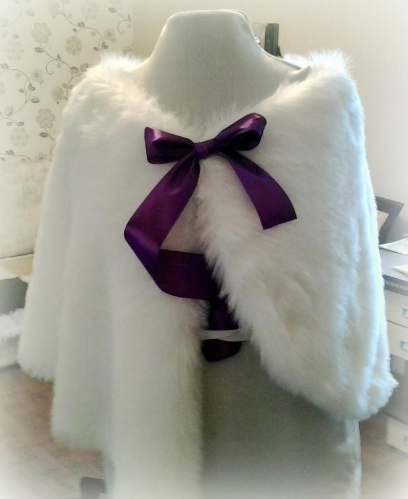 Как сшить накидку для свадебного/вечернего или бального платья
