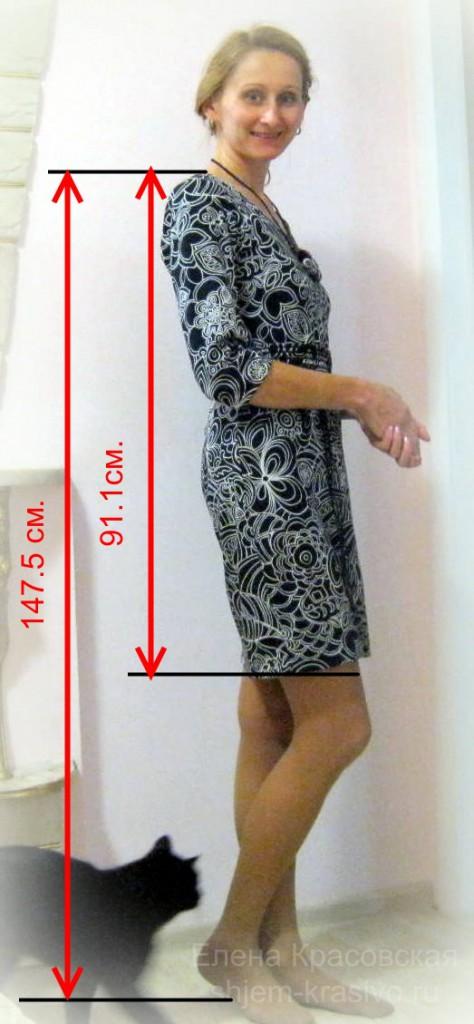 Как легко найти идеальную длину платья/юбки
