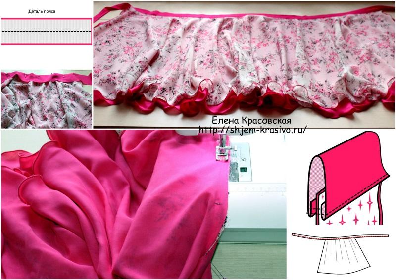 """Как сшить юбку-трансформер """"Кариза"""""""