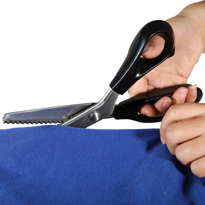 """Можно ли заменить оверлок ножницами """"зигзаг""""?"""