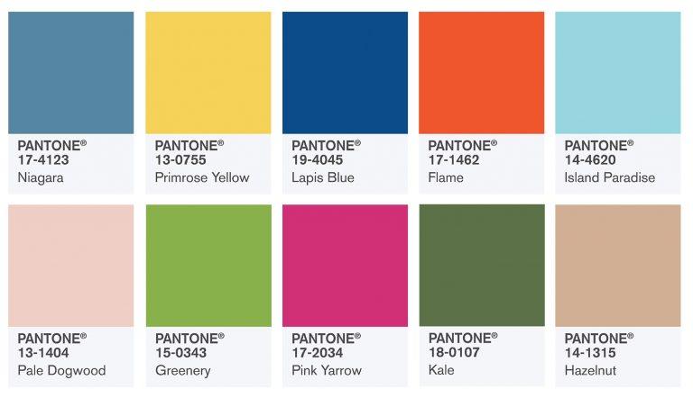 Главные цвета Весна — Лето 2017г. PANTONE Fashion Color Report Spring 2017