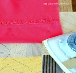 Как делать защипы на ткани. Виды защипов.