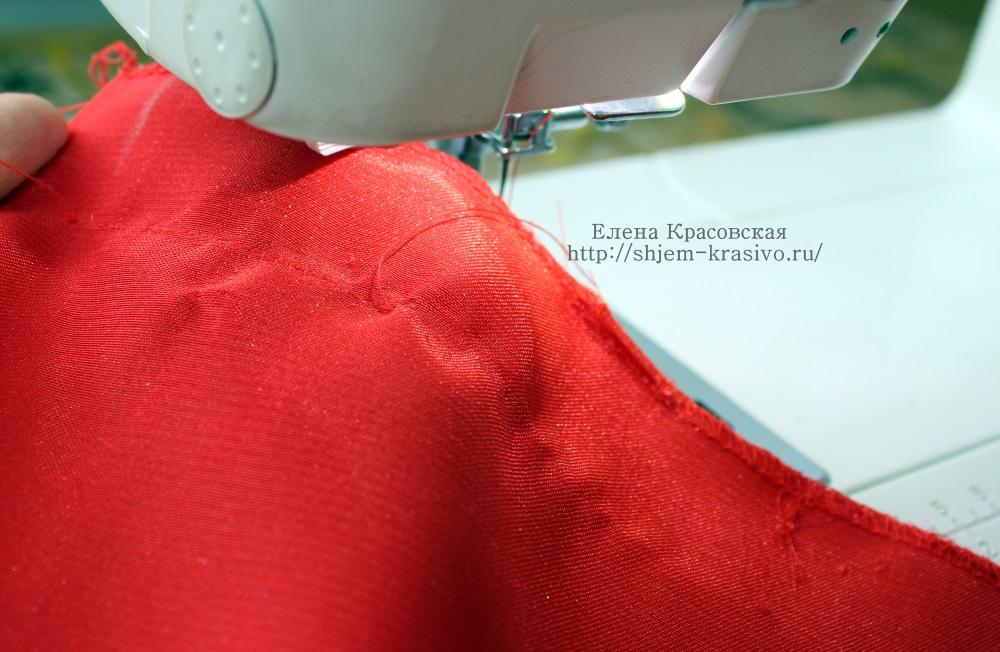 Правила стачивания на швейной машине. Уроки шитья